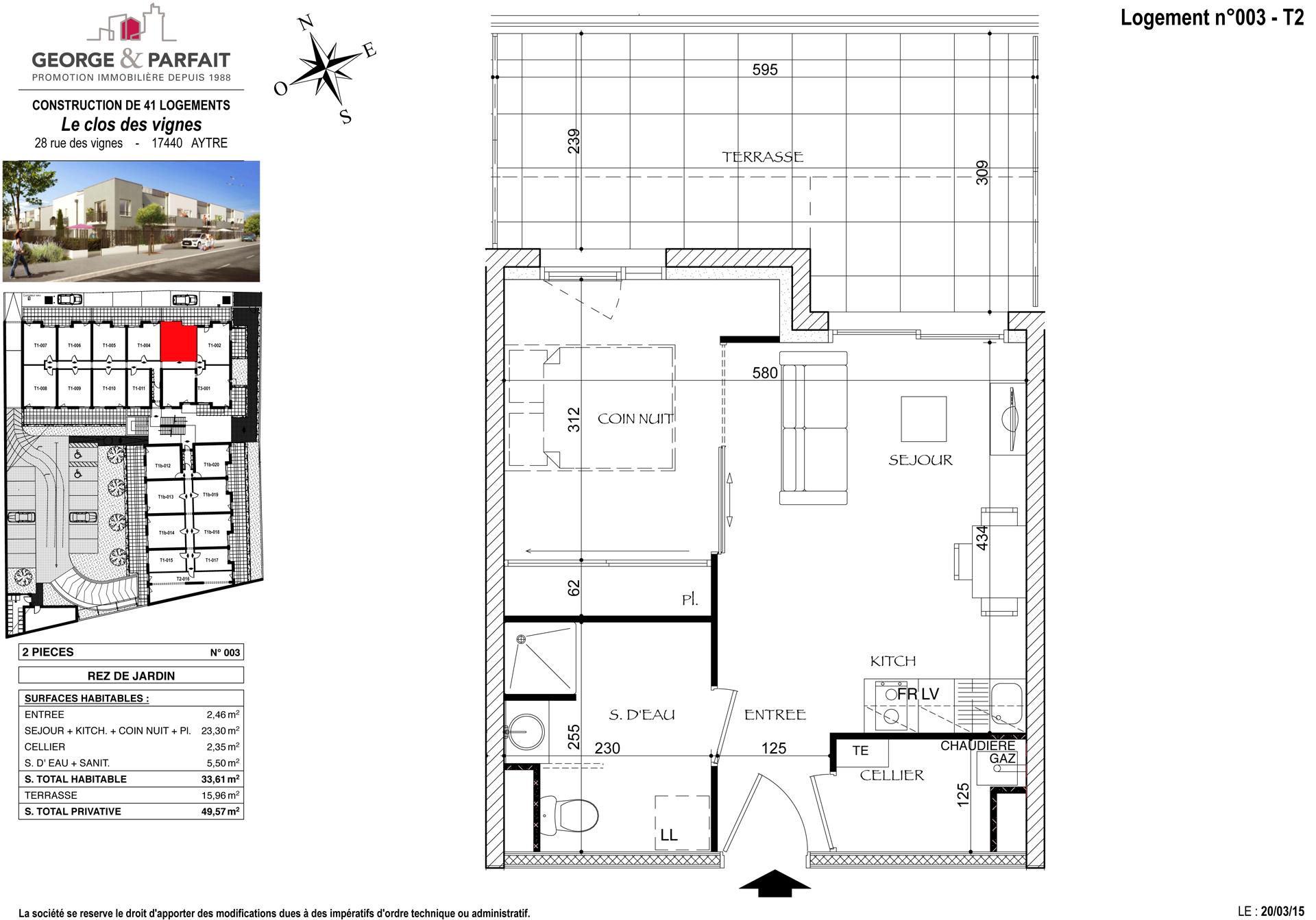 Visite 3d de l 39 appartement neuf 003 en vente aytr for Cuisine 3d aytre