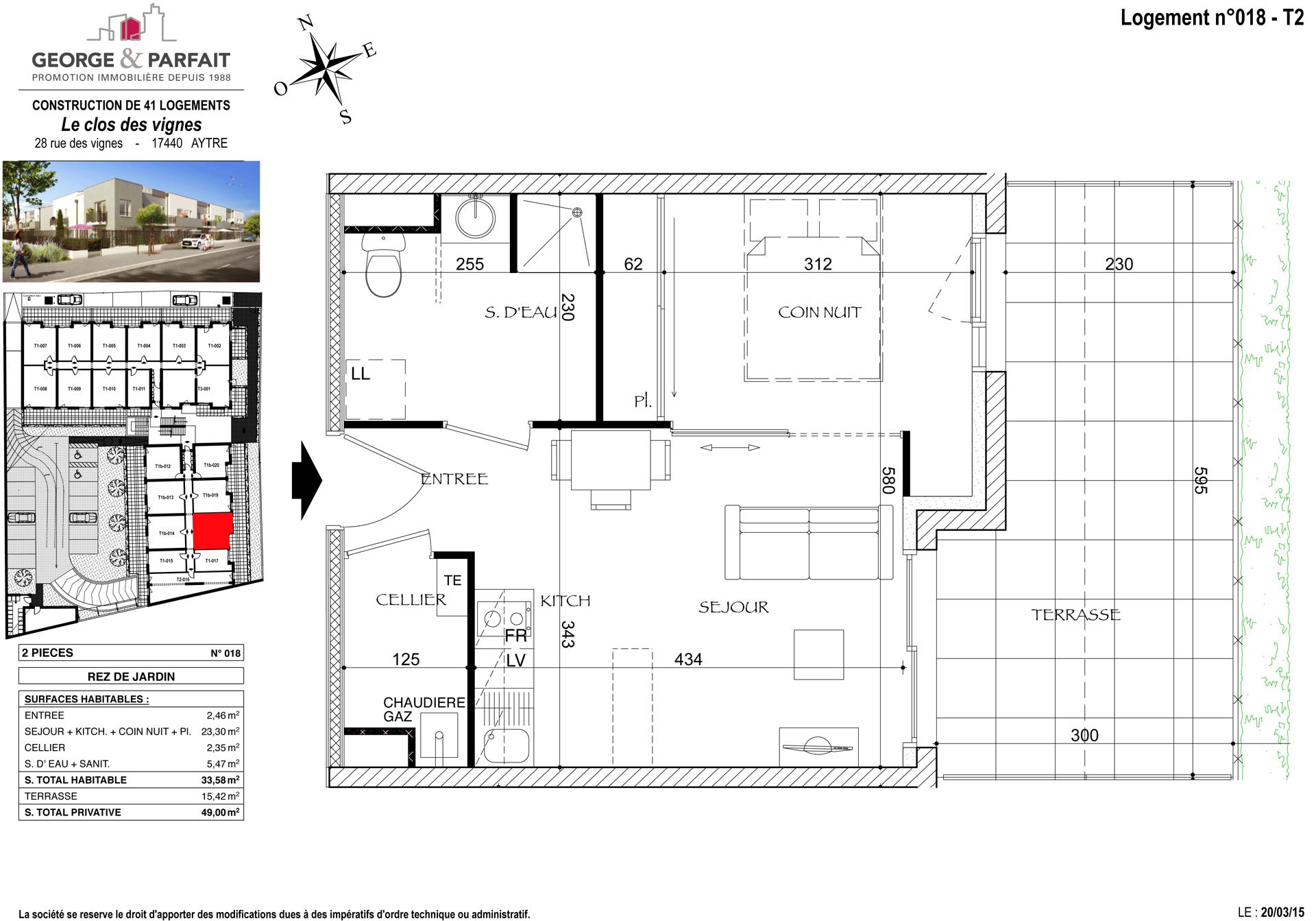 Visite 3d de l 39 appartement neuf 018 en vente aytr for Cuisine 3d aytre